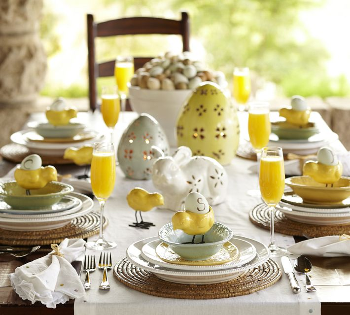 Easter Table Decorations 22