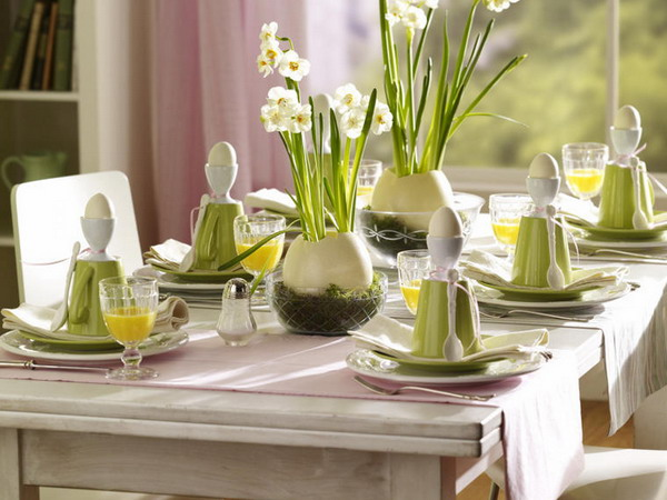 Easter Table Decorations 23