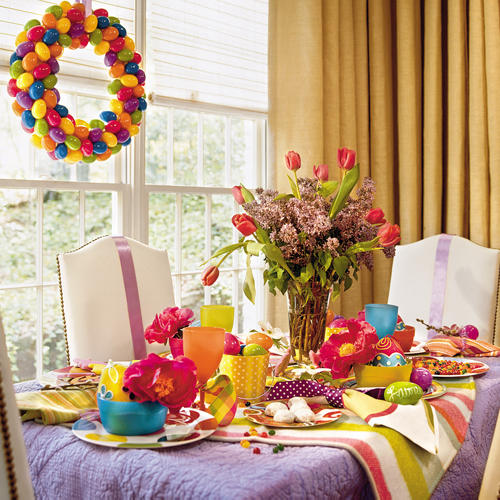 Easter Table Decorations 25