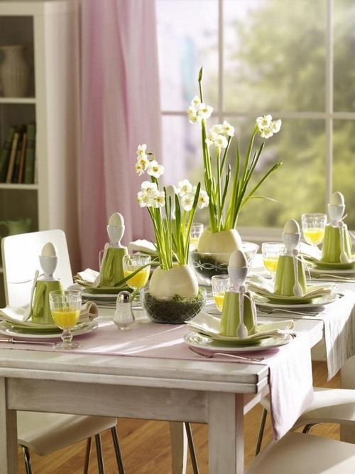 Easter Table Decorations 28