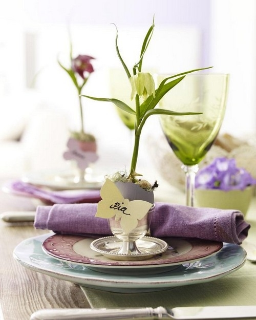 Easter Table Decorations 29