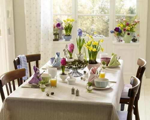 Easter Table Decorations 30