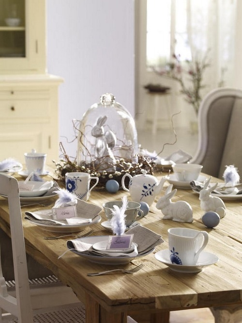 Easter Table Decorations 31