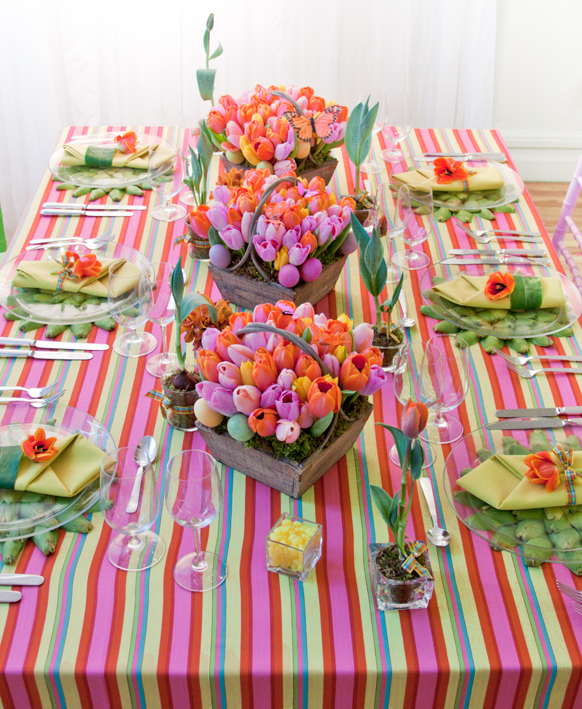 Easter Table Decorations 35
