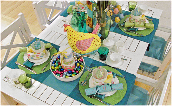 Easter Table Decorations 36