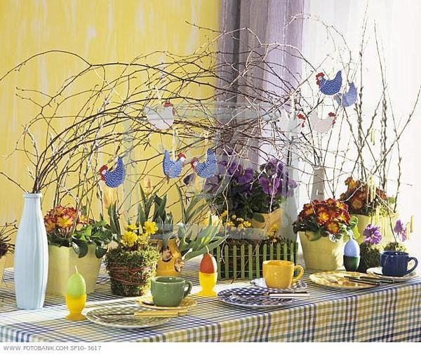 Easter Table Decorations 38