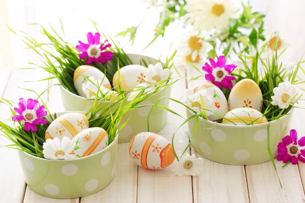 60 easter table decorations decoholic Images for easter decorations