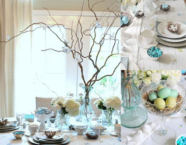 Easter Table Decorations 42