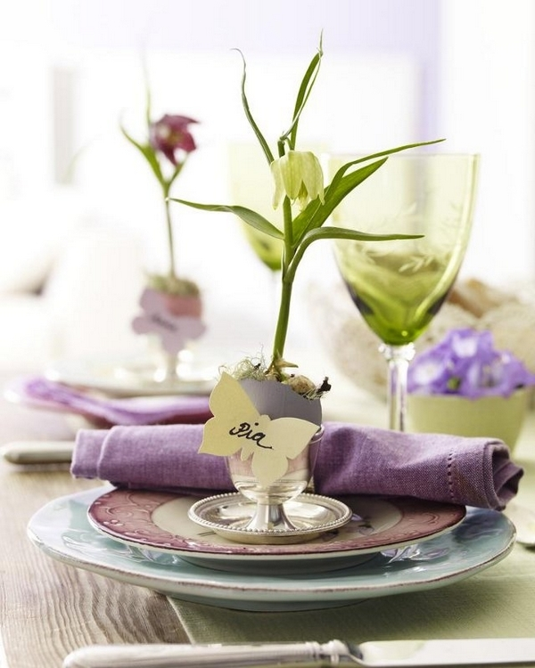 Easter Table Decorations 45