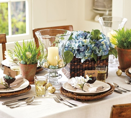 Easter Table Decorations 46
