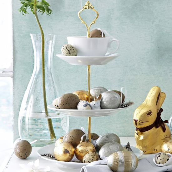 chocolate eggs for decoration