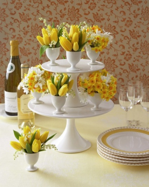 yellow tulips for decoration