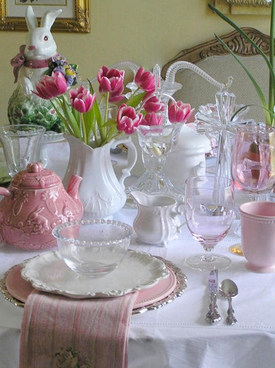 Easter Table Decorations 49