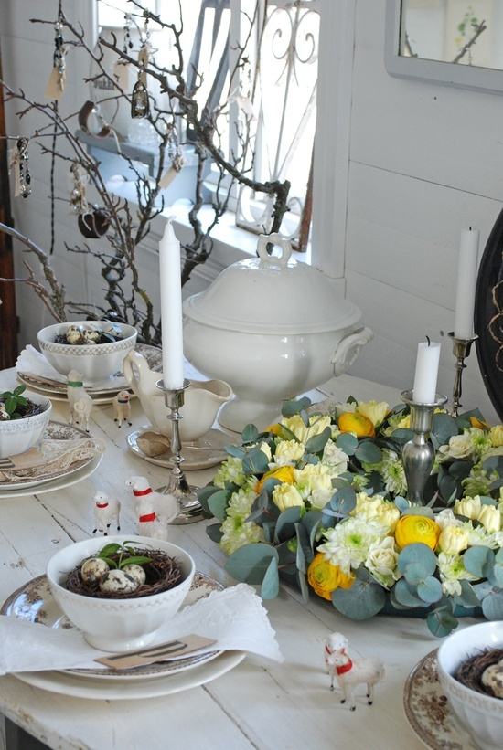 Easter Table Decorations 50