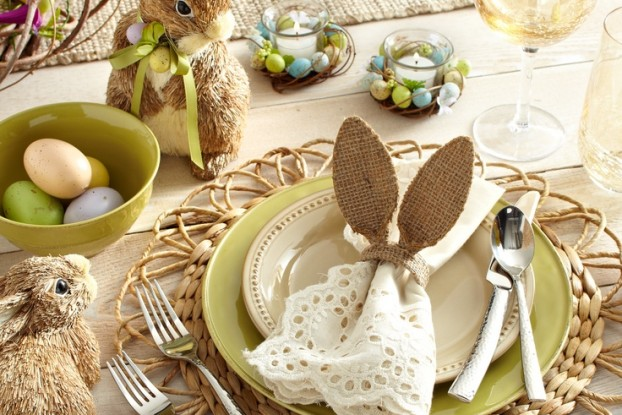 Easter Table Decorations 51