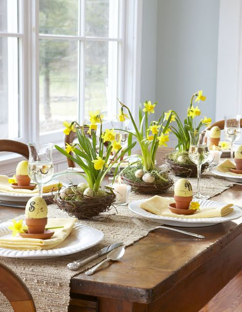 Easter Table Decorations 52