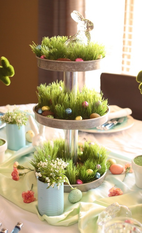 Easter Table Decorations 55