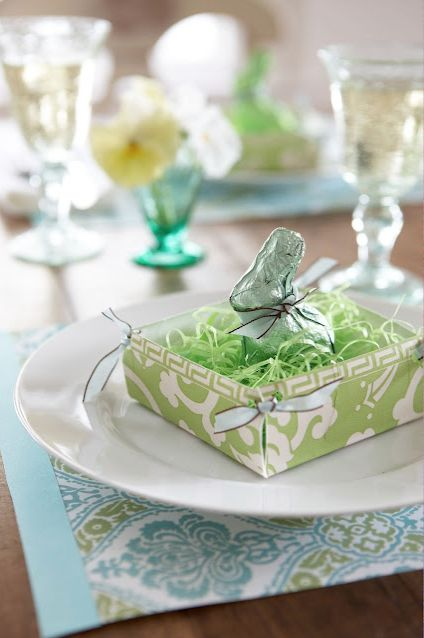 Easter Table Decorations 56