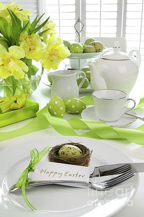 Easter Table Decorations 61