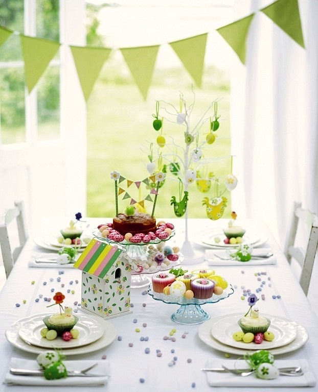 Easter Table Decorations 62