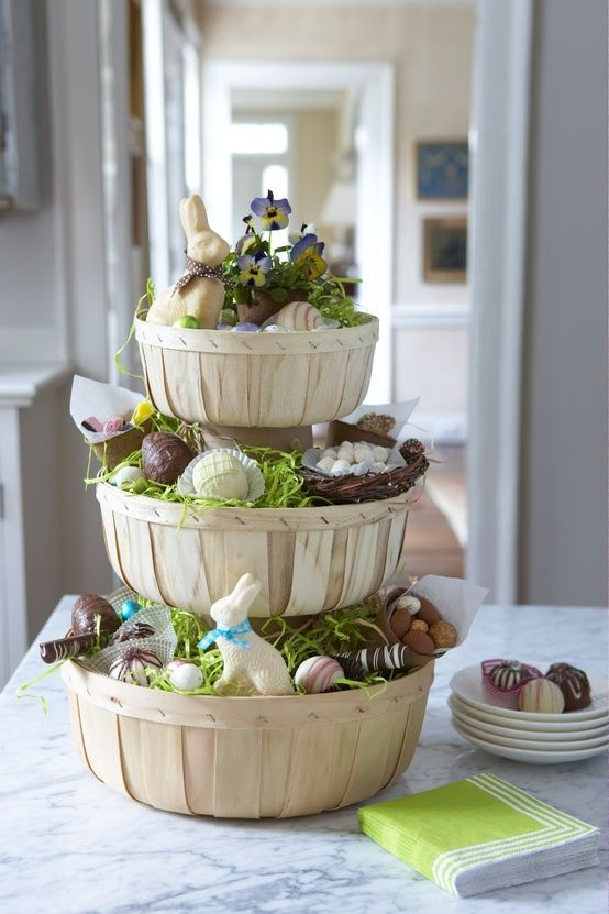 Easter Table Decorations 63