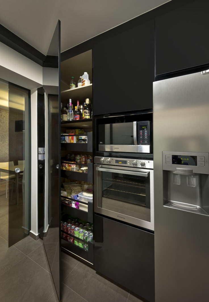 black kitchen design 41