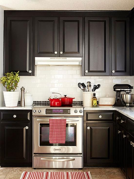 black kitchen design 47