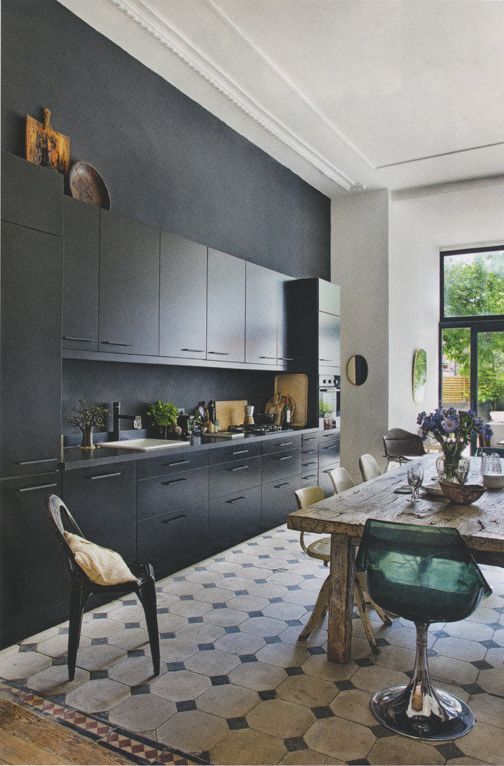 black kitchen design 48