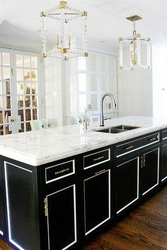 Black And White Kitchen Cabinets interesting black and white kitchen cabinets pictures - best image