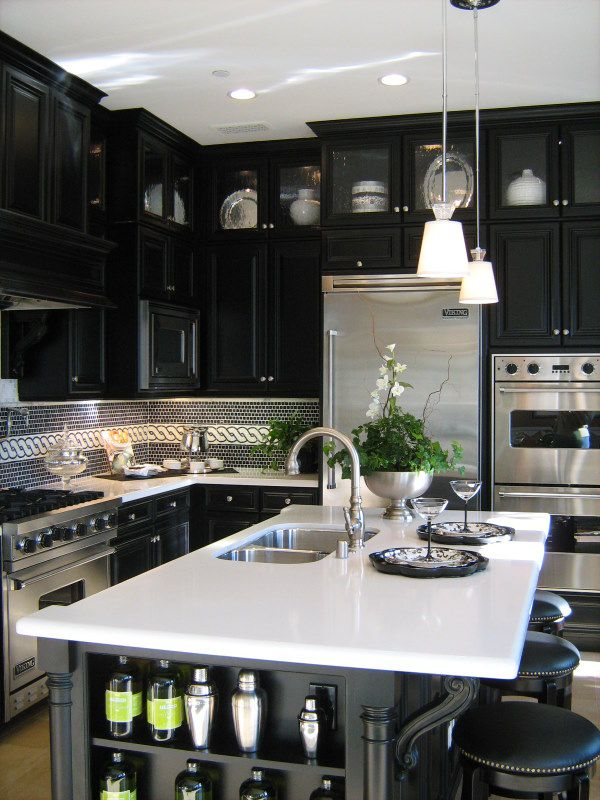 black kitchen design 51