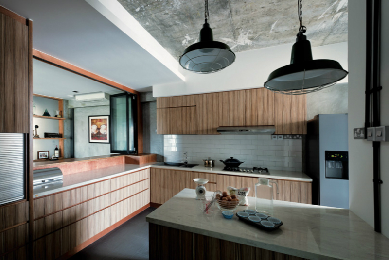 Interior With Organic Textures And Raw Finishes 2