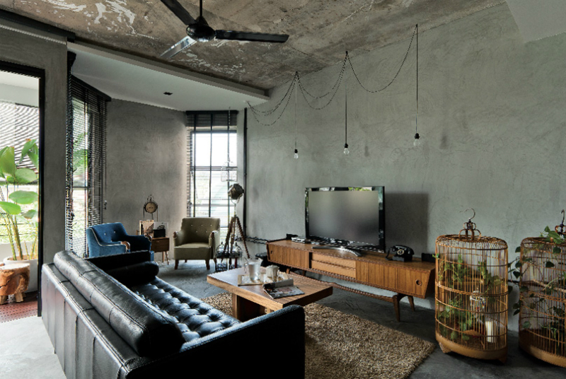 Interior With Organic Textures And Raw Finishes Decoholic