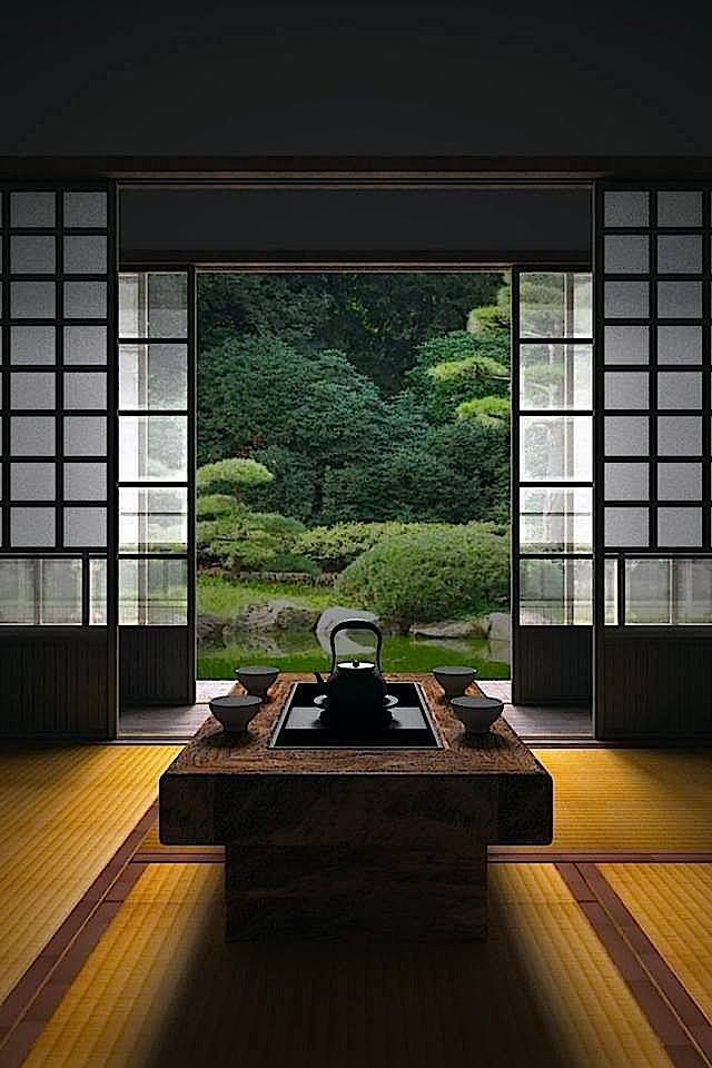 How To Add Japanese Style To Your Home Decoholic Interesting Japanese Living Room Exterior