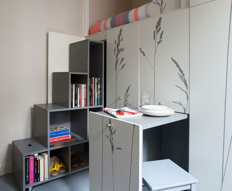 Tiny Apartment That Has Everything 6