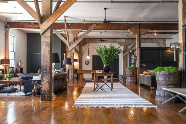 Loft With A Mix Of Styles Periods And Materials
