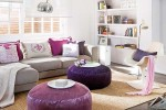 Purple Hues contemporary interior
