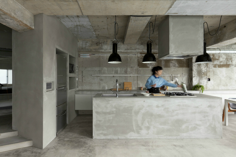 renovation of a 40 year old reinforced concrete apartment 3