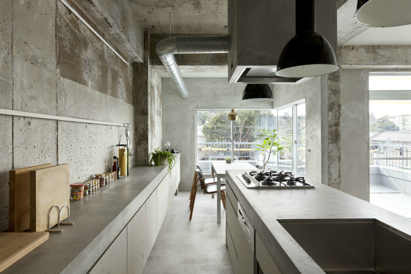 Renovation of a 40-Year-Old Reinforced Concrete Apartment