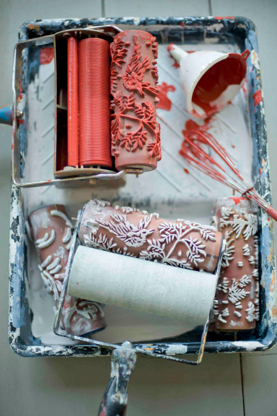 Patterned Paint Rollers 13