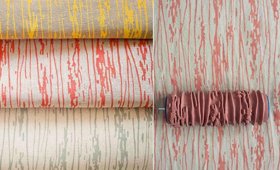 Patterned Paint Rollers 20