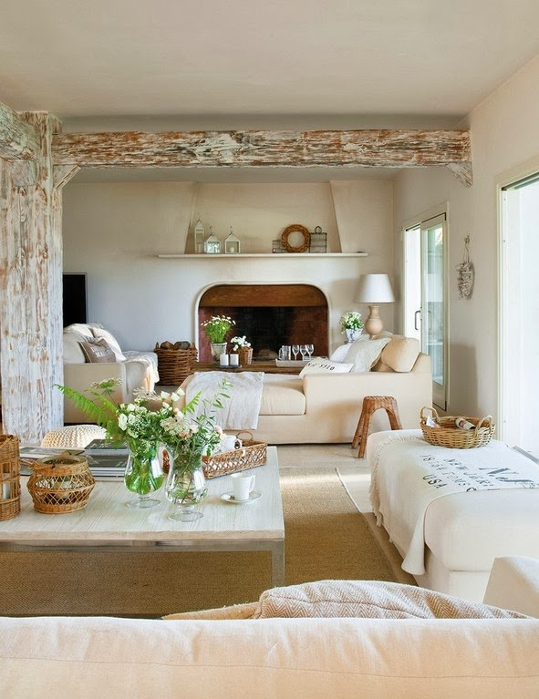 Refined Country Rustic Interior Decoholic