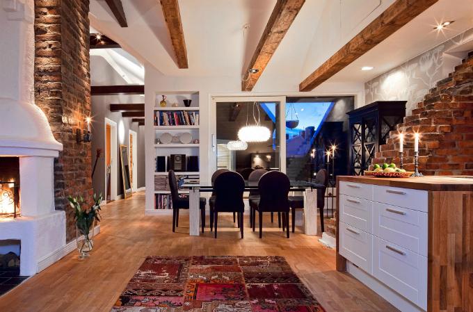 Warm and Charming Scandinavian Home 3