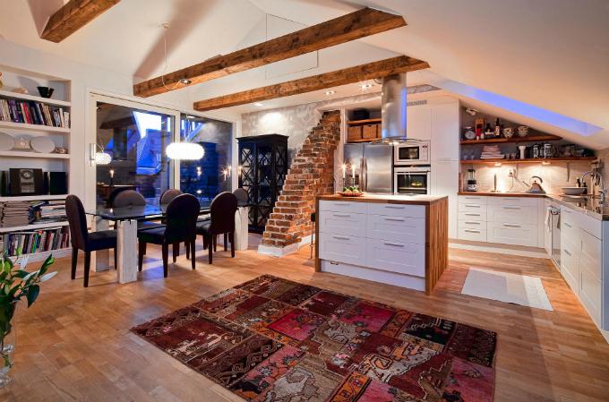 Warm and Charming Scandinavian Home 5