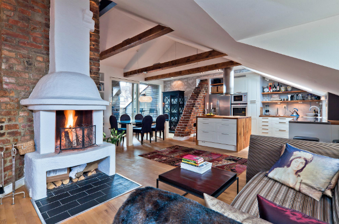 Warm and Charming Scandinavian Home