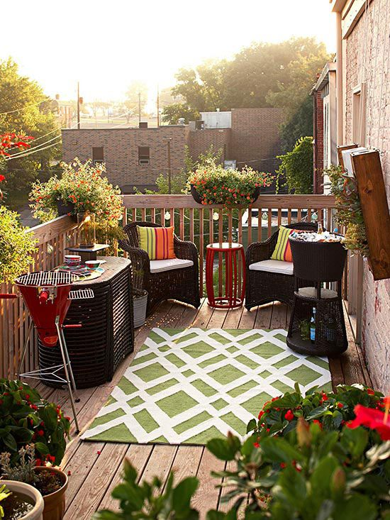 10 Easy Budget-Friendly Ideas To Make A Dream Patio ... on Easy Outdoor Patio Ideas id=63061