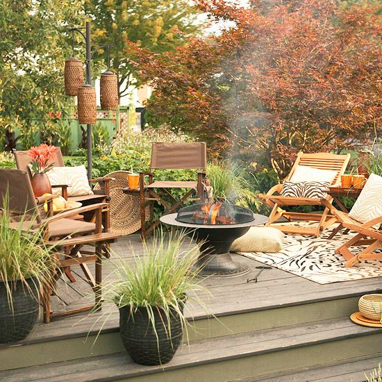 10 Easy Budget-Friendly Ideas To Make A Dream Patio ... on Patio Decor Ideas Cheap id=97396