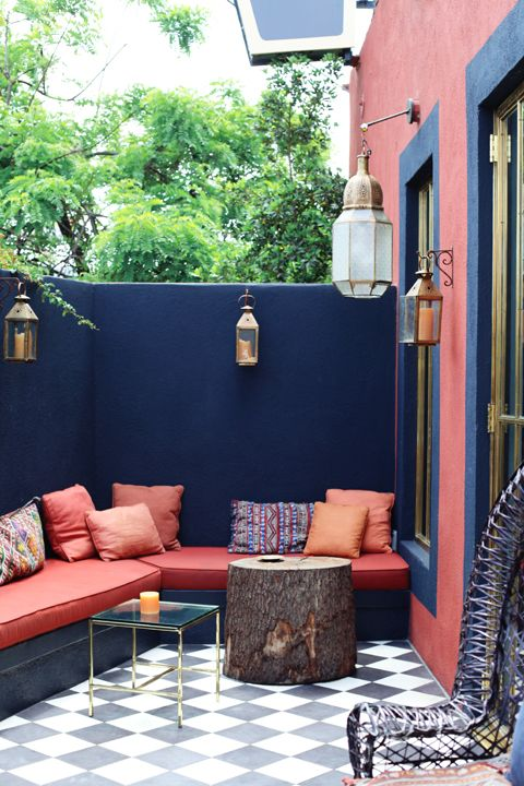 10 easy budget friendly ideas to make a dream patio for Ideas para decorar patios y jardines