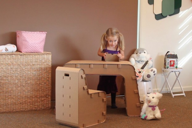 Recyclable Kids Furniture You Can Draw On