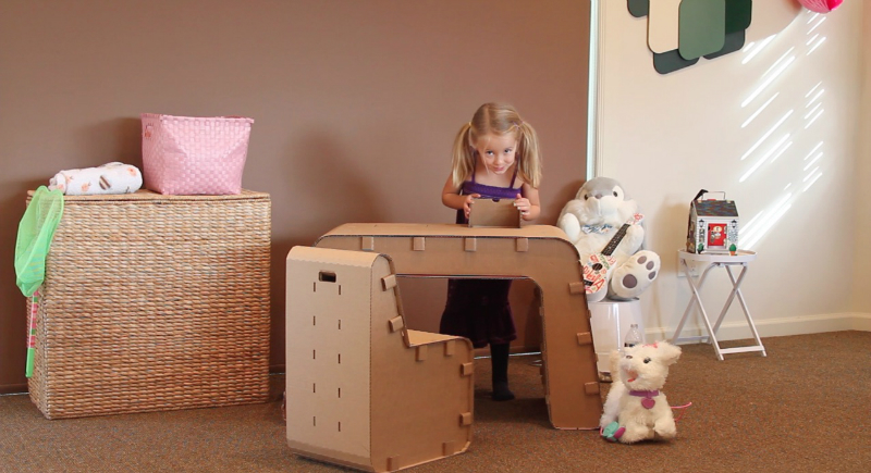 Recyclable Kids Furniture You Can Draw Onu200f