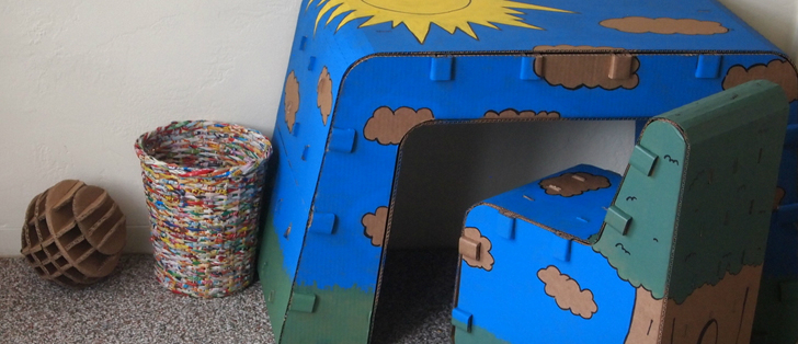 Recyclable Kids Furniture You Can Draw On‏ 3